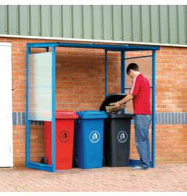 Smoking & Wheeled Bin Shelters