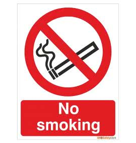 No Smoking & Prohibition Signs