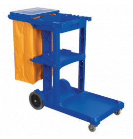 Janitorial Trolleys & Bins