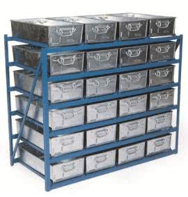 Tote Pans & Small Parts Storage