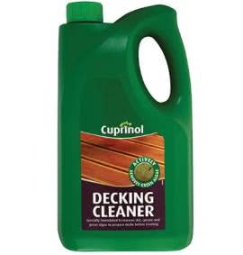 Decking Oils, Stains & Cleaning