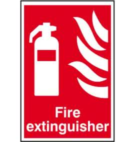 Fire Extinguisher & Equipment Signs