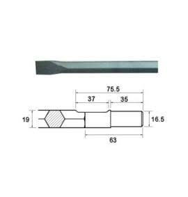 Steels - 19mm Hex Shank