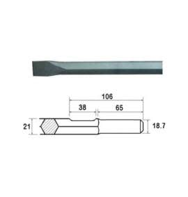 Steels - 21mm Hex Shank