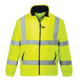 Portwest Hi Visibility Rail Fleece