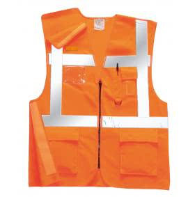 Portwest Hi Visibility Rail Vests