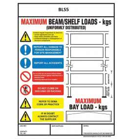 Bay Load Signs