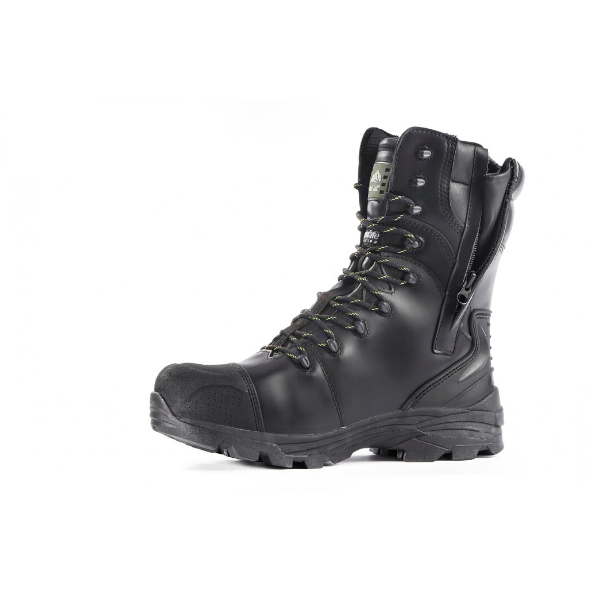 aa2d22950f8 Rock Fall Monzonite Black High Leg Metatarsal Safety Boot