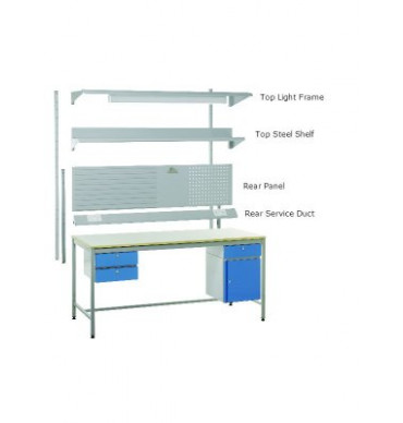 Above Bench Accessories