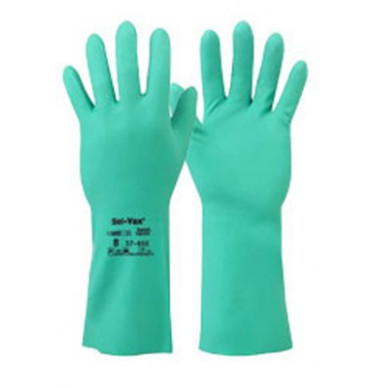 Ansell 37-655 Green Solvex Glove