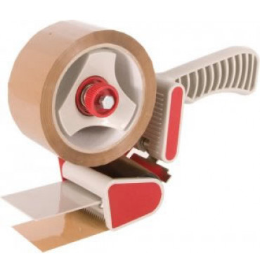 Pistol Grip Dispenser With Removable Blade Protector for 50mm Tape