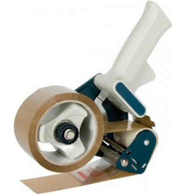 Pistol Grip Dispenser With Trigger Operated Safety Blade for 50mm Tape