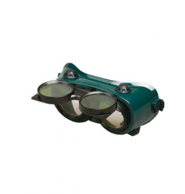 Round Lens Flip Up Goggle (Pack of 10)