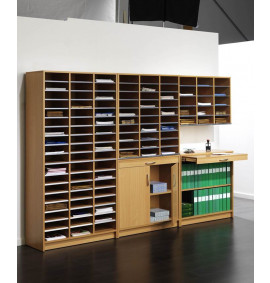 Mail Sorting Shelf Units