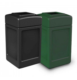 140L Litter Bin with Open Top