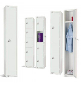 All White Lockers