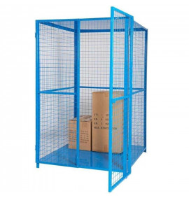 Security Cage with Roof & Base