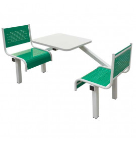 Canteen Tables with Steel Seats