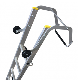 Single Section Push Up Roof Ladders