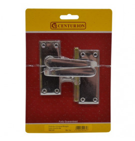 Vict Chromed Straight Lever Latch Handle