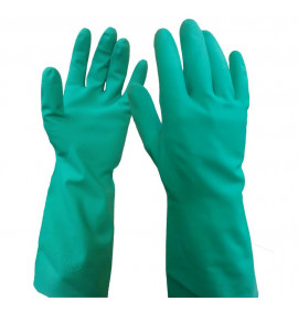 WarriCHEM Green Nitrile Gloves