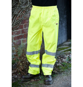 Warrior Yellow High Visibility Seattle Trousers