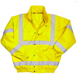 Warrior Hi Vis Tulsa Bomber Jacket