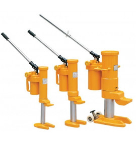 Rotational Hydraulic Toe Jacks