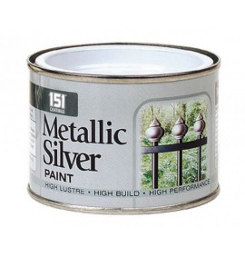 180ml Metallic Silver Paint (DGN)