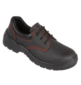 Proforce Black Dual Density Safety Shoe with Steel Midsole