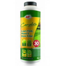 Doff Complete Lawn Feed, Weed & Mosskiller - 1kg