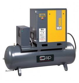 Sirio 11-10-500ES Screw Compressor/Dryer