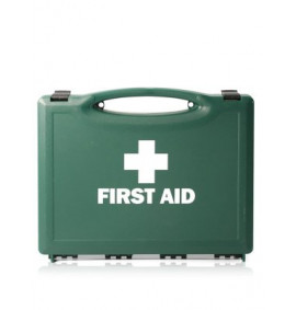 1 Person Travel First Aid Kit - Green Box (HSE Compliant)