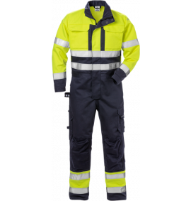 Fristads High Vis Coverall CL 3 8084 FLAM