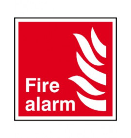 200 x 200 Fire Alarm Signs