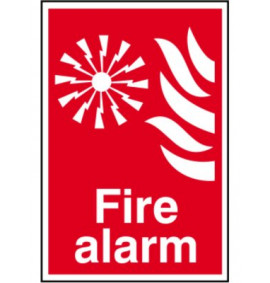 200 x 300 Fire Alarm Sign