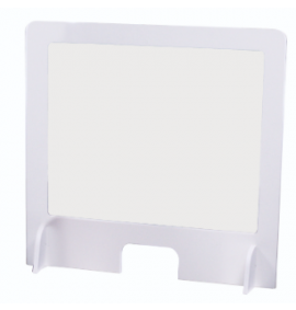 Sneeze Screen, 600 x 600mm, Pvc With Polypropylene Clear Window