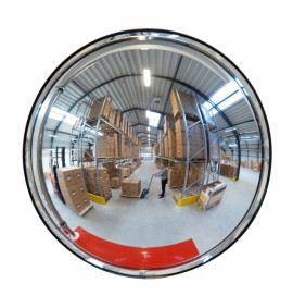 DETECTIVE (Acrylic) Internal Wall Mounted Convex Mirror - Round