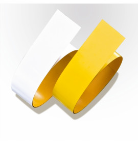 PROline-tape Steel for Forklift Traffic - 75mm x 6.0m long - Yellow