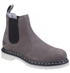 Dr Martens Arbor ST Grey Leather Womens Safety Boot