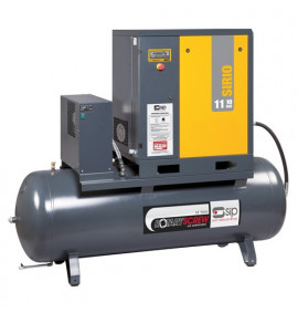 Sirio 11-10-270ES Screw Compressor/Dryer