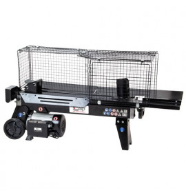 5 Ton Horizontal Log Splitter with Cage