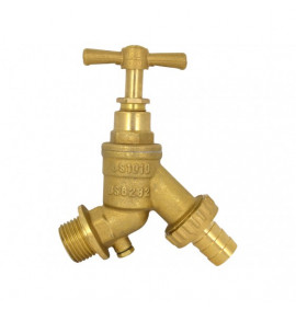 Garden Hose Tap with Double Check Valve