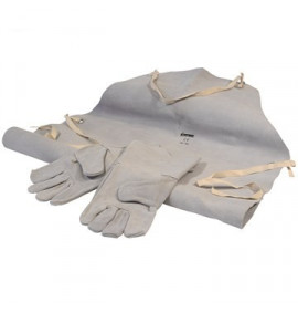 Leather Welding Gloves & Apron