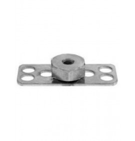 BigHead Mild Steel Female Hex Nut M8