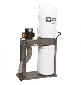 1HP 1-Bag Vacuum Dust Collector