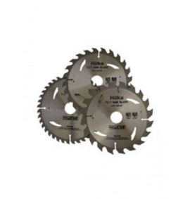 3 Piece TCT Saw Blades 190mm