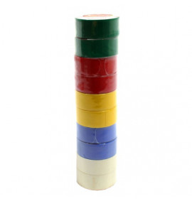 19mm x 4.5m PVC Insulating Tape - Assorted Colours