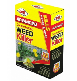 Advanced Concentrated Weedkiller 3 x 80ml Sachets