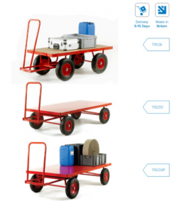 Trader Truck Turntable Trailers